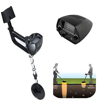 Amazon.com : Ehonestbuy Waterproof LCD Display Metal Detector Starter Kit, High-Accuracy Discrimination Treasure Hunter for Adult and Juniors : Garden & ...