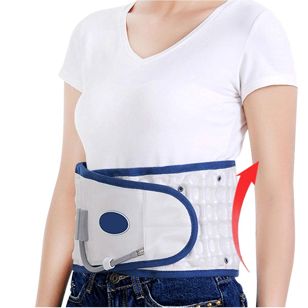 Physio Decompression Back Brace - Lower Back Pain Relief Lumbar Support at Home Back Belt