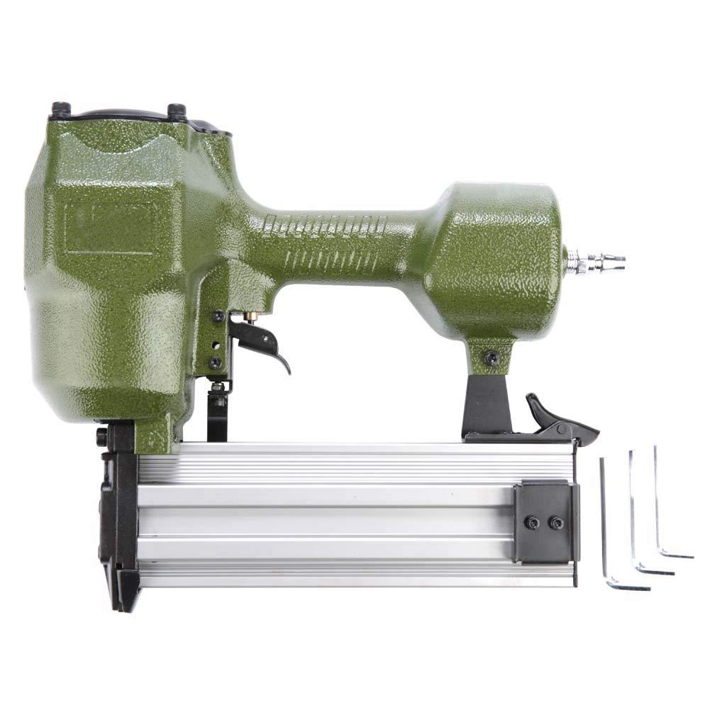 ST64 Pneumatic Nail Gun Air Pneumatic Nailers Woodworking Machine Power Staple Guns Hand Tool