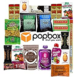 Healthy Paleo Snacks Variety Pack by popbox