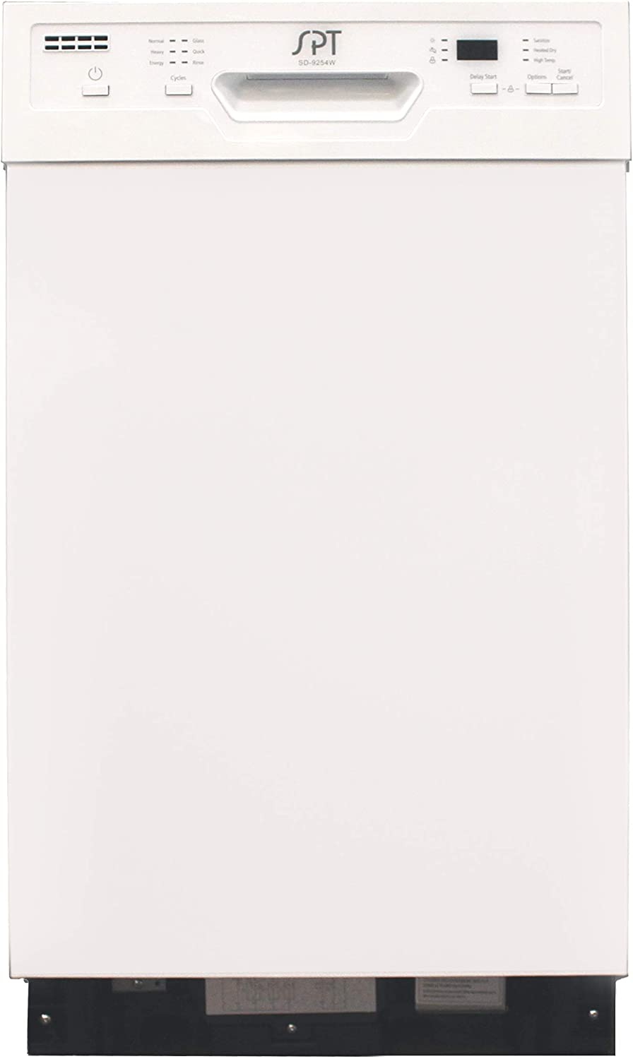 SD-9254W: Energy Star 18″ Built-In Dishwasher