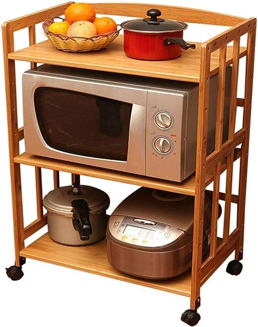 Rejilla de Horno Microondas Estante De Cocina Microondas Bastidor ...