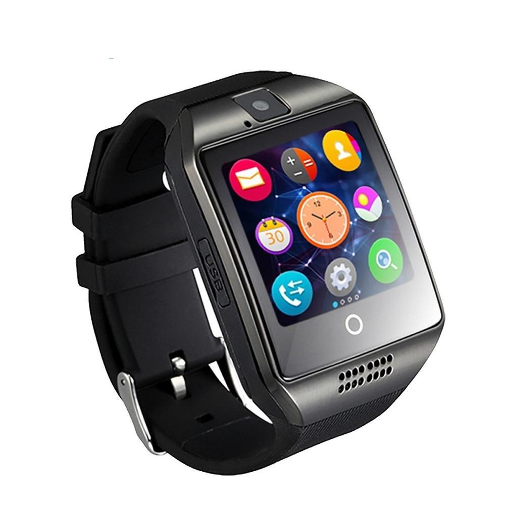 Amazon.com : WTGJZN Bluetooth Q18 Smart Watch Fitness ...