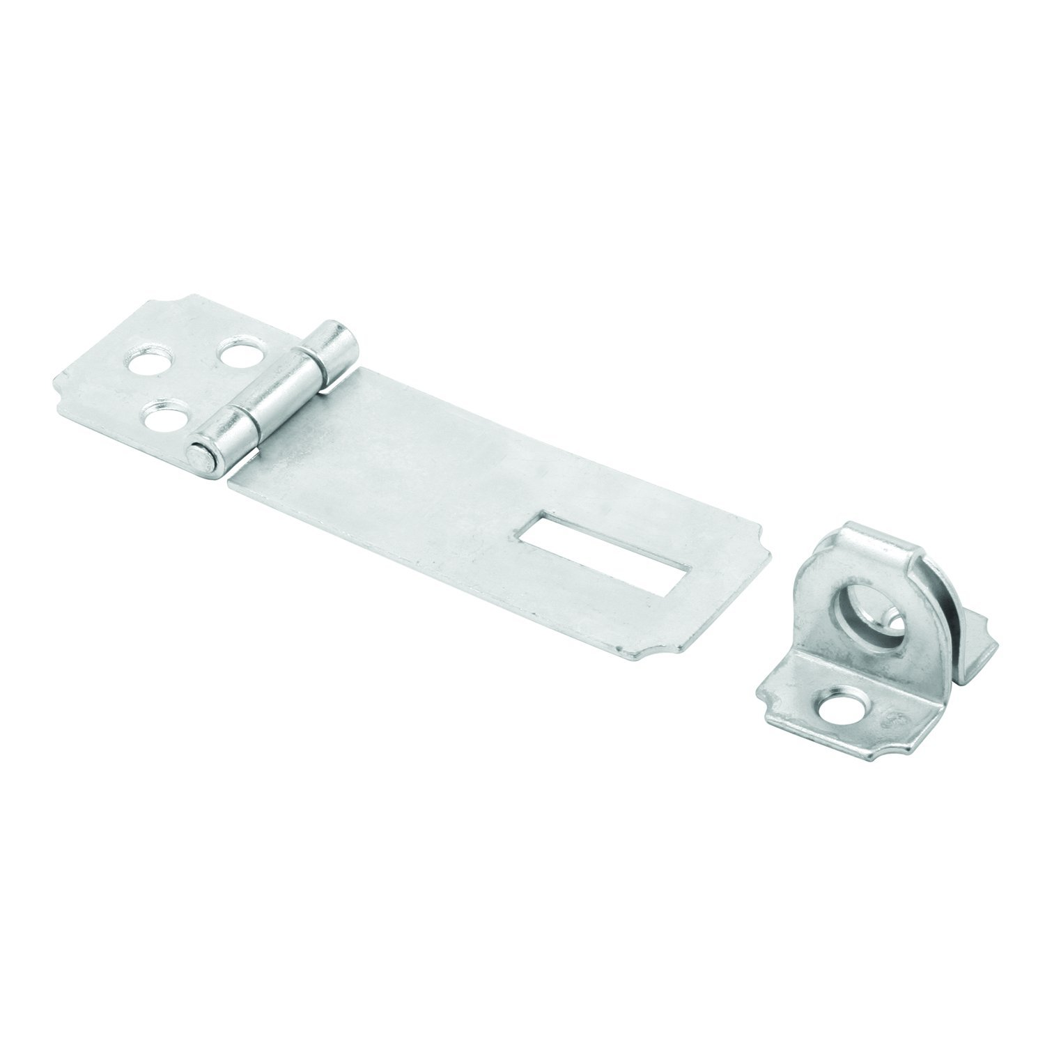 Prime Line MP5056 Safety Hasp 2 1 2 Inch Steel Construction Zinc Plated Finish Fixed Stapled Pack of 1