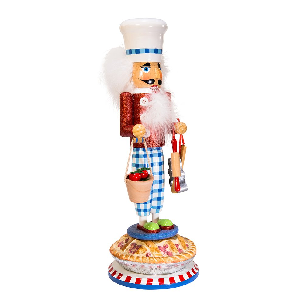 Kurt Adler 17'' Hollywood Apple Pie Baker Nutcracker