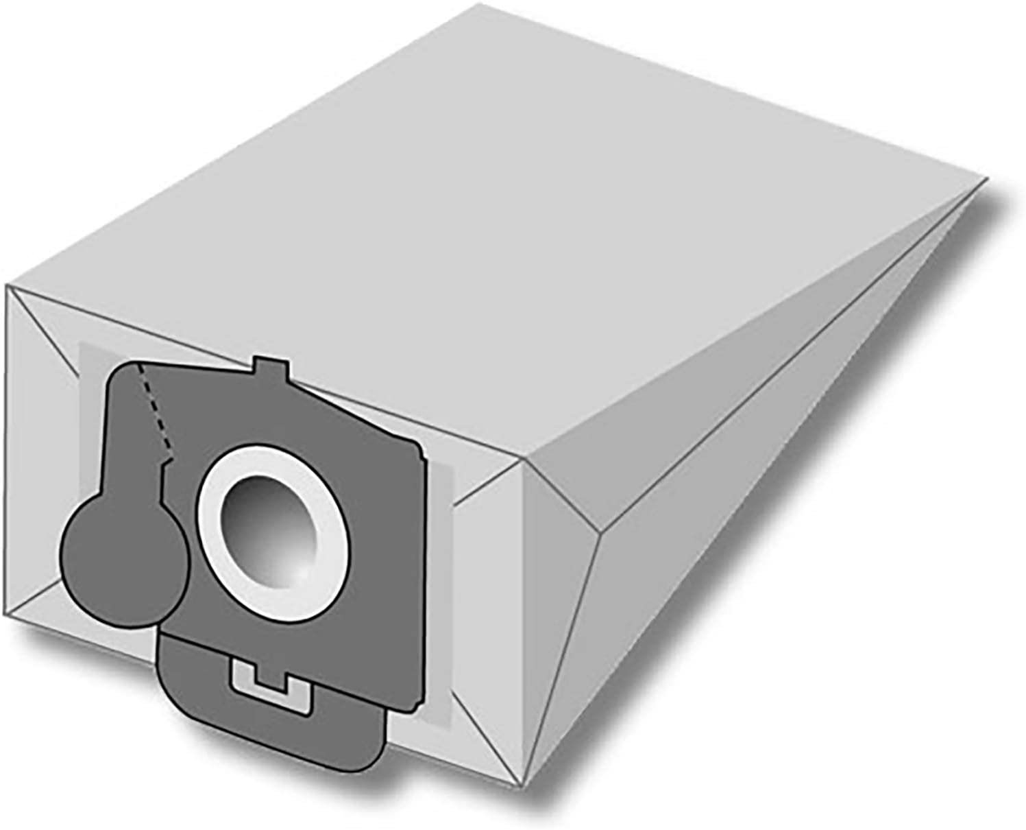 20 Bolsas de aspiradora apta para Carrefour 4107.9   2 capas de papel Bolsa para el polvo de microfibras® 20 bolsas de basura: Amazon.es: Hogar