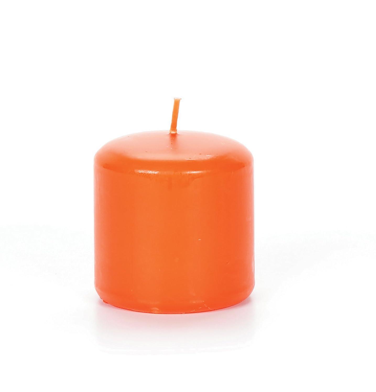 Darice Pumpkin Scented, 3 6 inch Pillar Candle, 3 x 6/2.8 x 5.8, Orange 1149-99