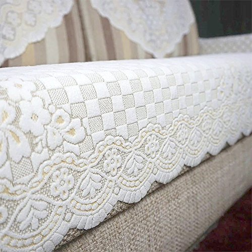 yazi Sectional Sofa Throw Covers Furniture Protector Tablecloth Table Cover Towel 33 1/2inch by 79 inch Butterfly Flower