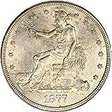 1877 CC Trade Dollars Dollar MS62 PCGS