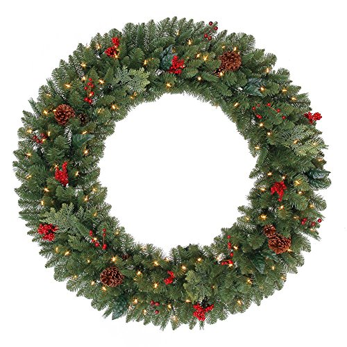 Outdoor Lighted Potted Christmas Trees - 2