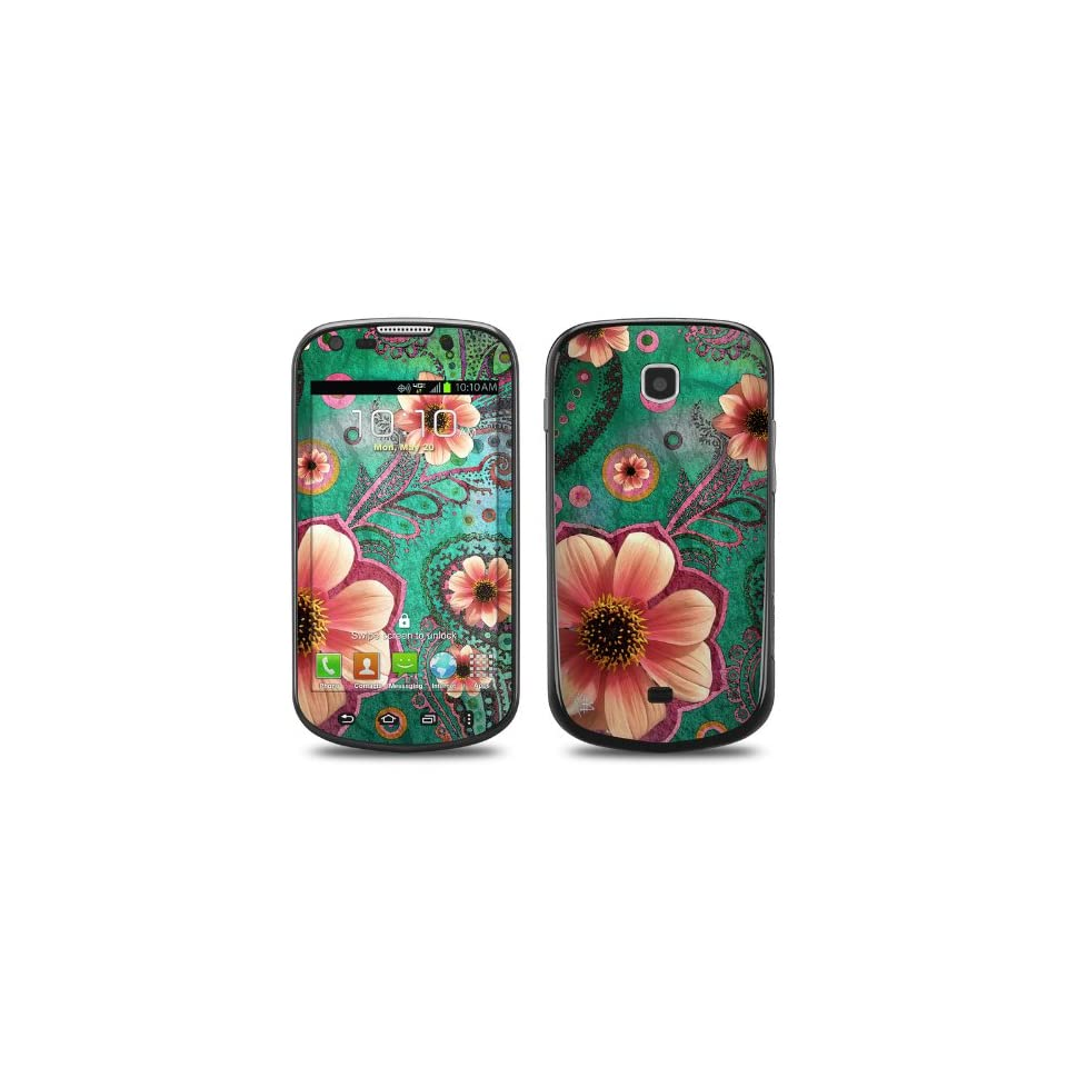 Paisley Paradise Design Protective Decal Skin Sticker (High Gloss Coating) for Samsung Galaxy Stellar SCH i200 Cell Phone Cell Phones & Accessories