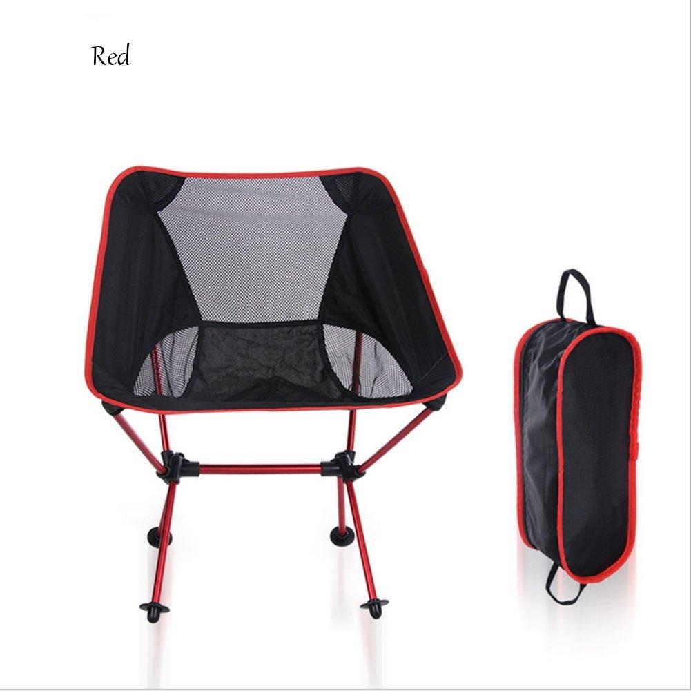 Outdoor Camping Klappstuhl Portable Moon Stuhl Leichte Aluminiumlegierung Freizeit Angeln Stuhl