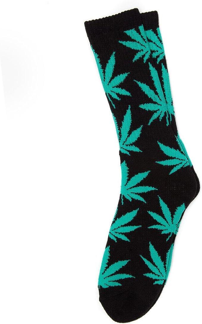 Casual Socks Cotton Socks Plantlife socks Huf Weed Socks