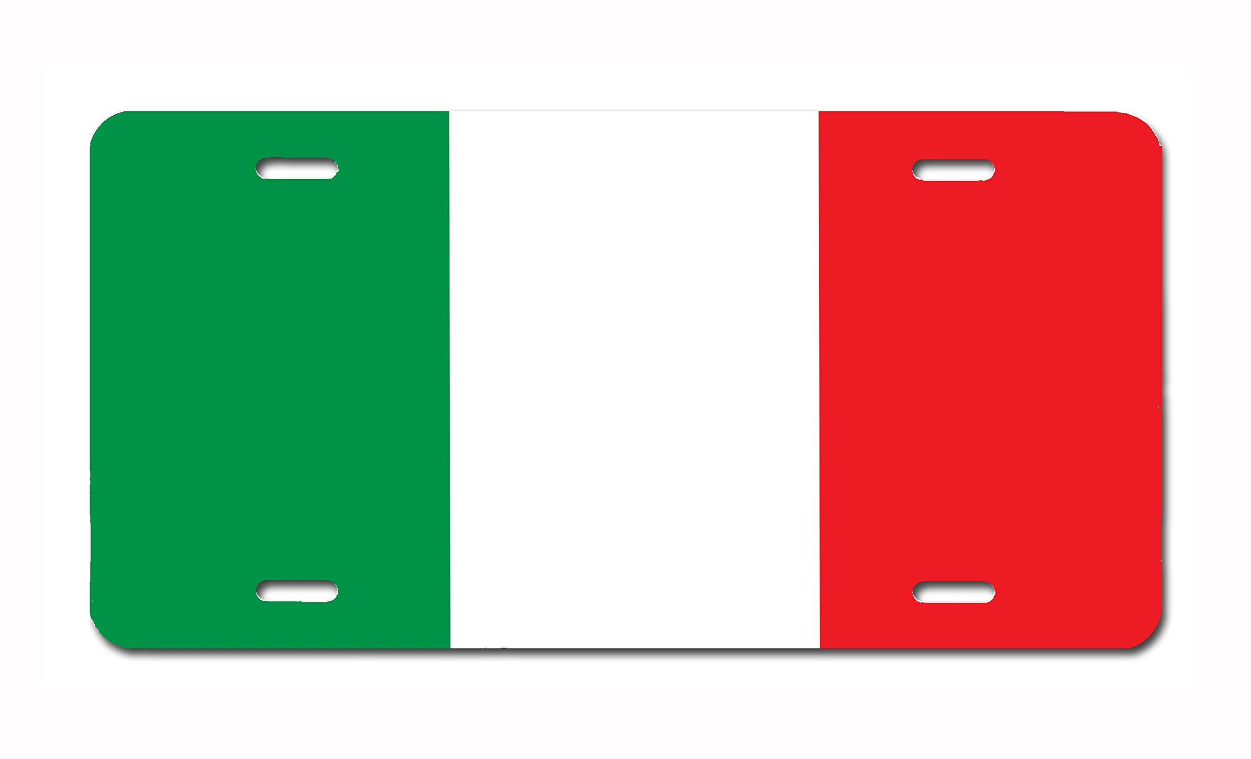 Carpe Diem Designs Italy Flag Vanity/Novelty License Plate by, Made in the U.S.A. …