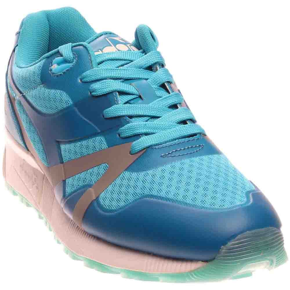 Diadora N9000 MM Bright B01DMJET2U 10.5 Women / 9 Men M US|Blue Fluo
