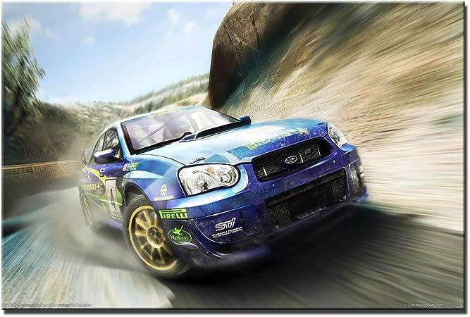 Eleanor Subaru Racing Cars Colin McRae Rally Imprima Carteles en ...