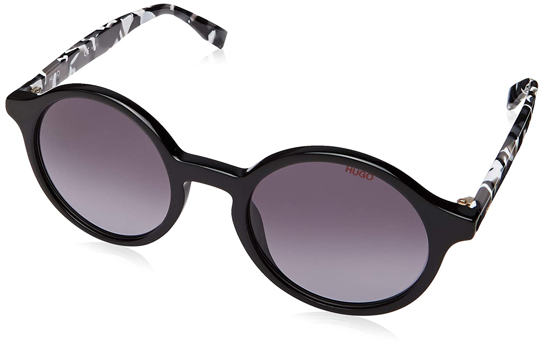 hug 9O dark gray gradient lens Hg 311 //S 080S Black White Sunglasses Hugo