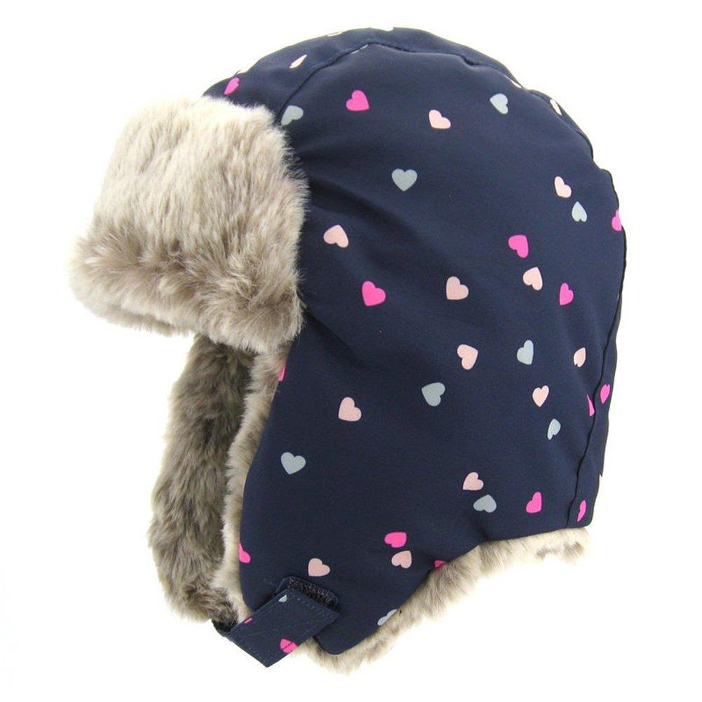 Cappello Bomber per Bambini Unisex Cappello Invernale Girl Cuffie Riscaldate Cappuccio Confortevole Cappello in Peluche