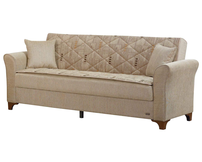 Amazon.com: BEYAN SB Main Ave Mid Century Modern Convertible Sleeper ...