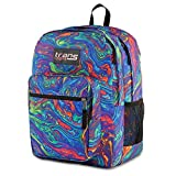 Trans by Jansport Supermax Multi Acid Rainbow Swirl Backpack
