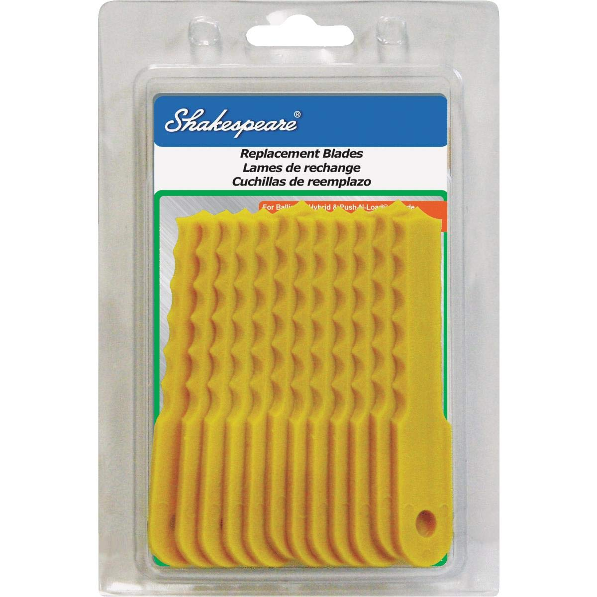 Shakespeare Push-N-Load Replacement Trimmer Blade - 1 Each by Shakespeare Mono