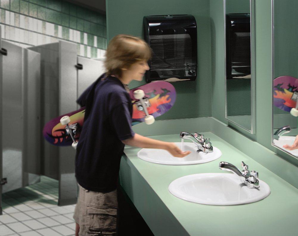 Chrome Moen 8210 Commercial M-Dura 4-Inch Centerset Lavatory Faucet 2.2 gpm