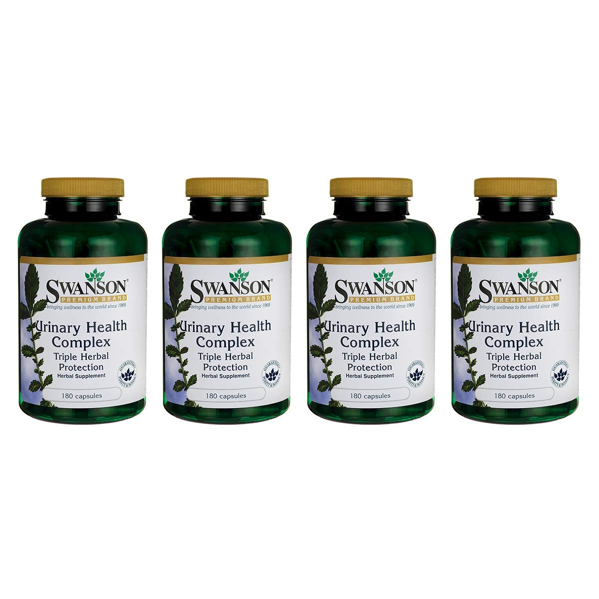 Swanson Urinary Health Complex Triple Herbal Protection 180 Capsules (4 Pack) by Swanson