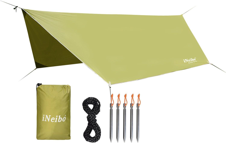 iNeibo - Lona para Carpas de Material Resistente e Impermeable