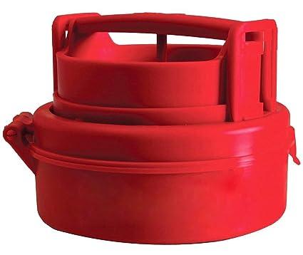 PriMI: Máquina manual para hacer presión de hamburguesas para rellenar carne