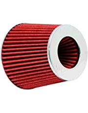 """K&N Engineering RG-1001RD Multi 6"""" Od B X 5"""" H W/4"""", 3-1/2"""", 3"""" Dia FLG W/Inverted Top Universal Clamp-On Air Filter"""