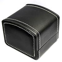 Chytaii Boîte à Bijoux Boîte d'Emballage / Rangement / Cadeaux / Montre en Cuir PU Rouge Noir