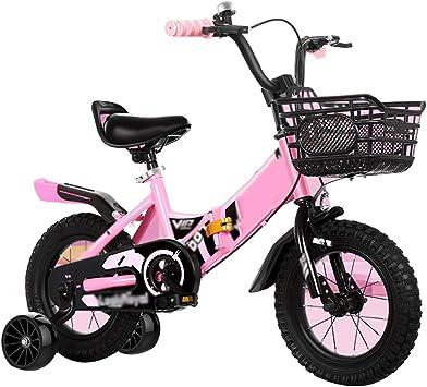 YUMEIGE Bicicletas Bicicletas infantiles, con rueda de ...