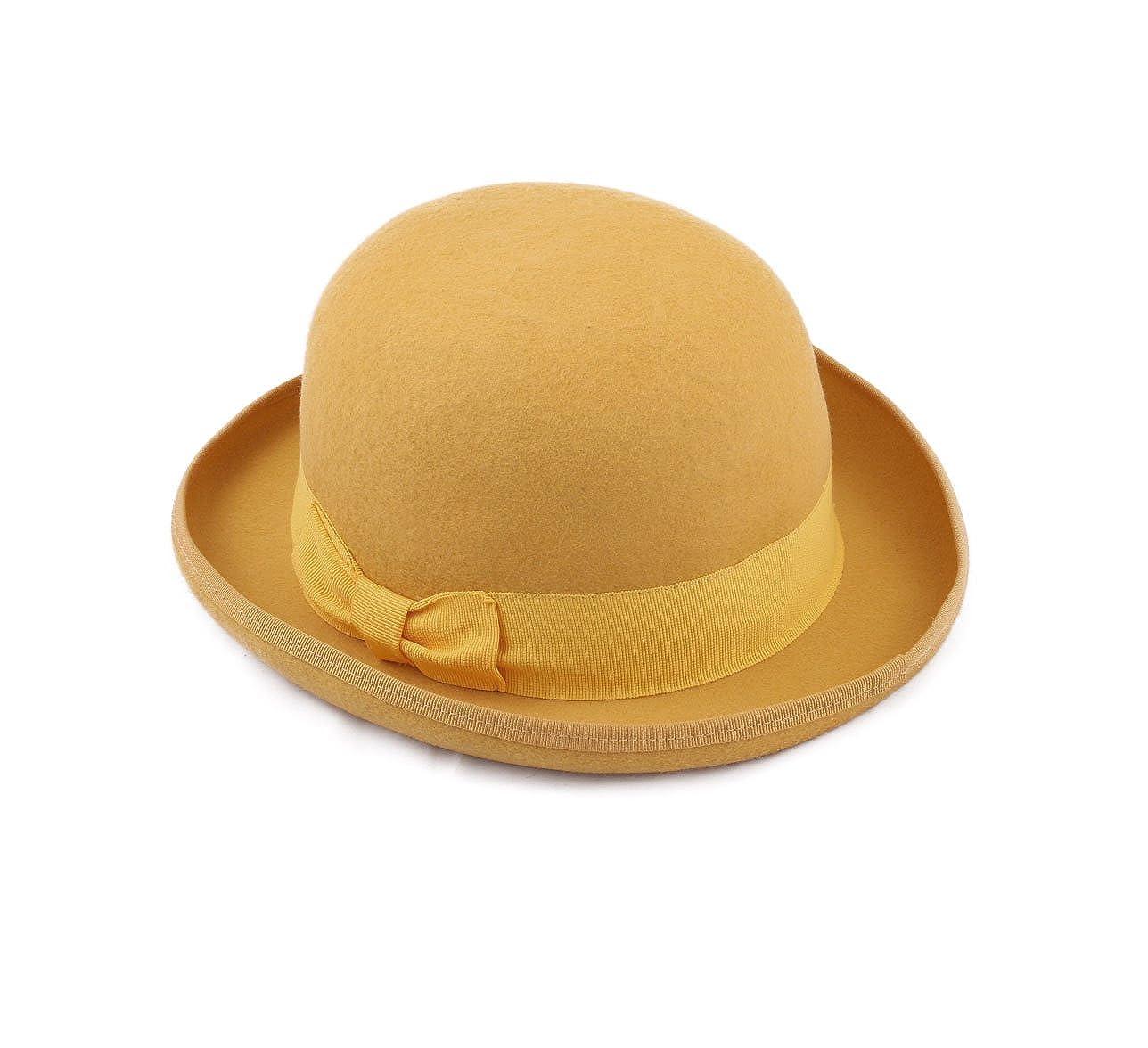 Classic Italy Cappello Bombetta Feltro Uomo Melon