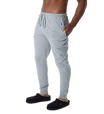 78e274bc543e2 Polo Ralph Lauren mens L20403 Pajama Bottom for Men, Cotton, Grey ...