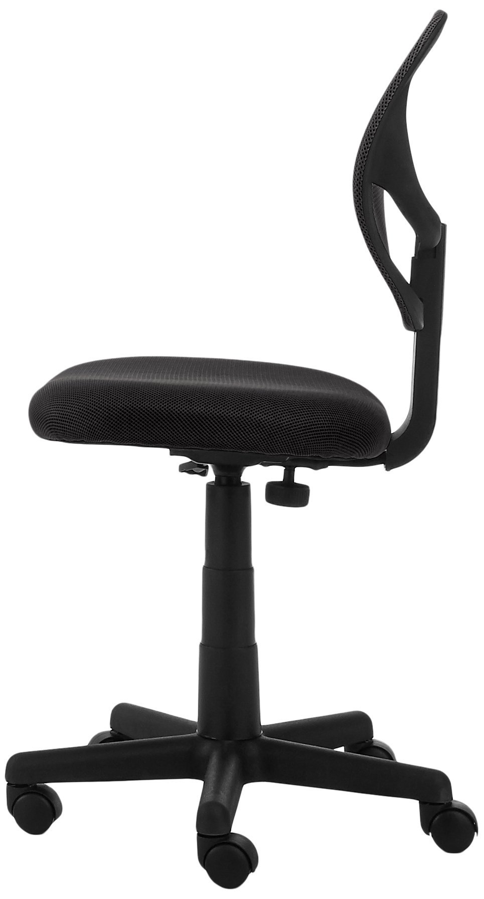 AmazonBasics Low-Back Computer Task/Desk Chair with Swivel Casters - Black by AmazonBasics (Image #5)