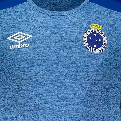 Camisa Umbro Cruzeiro Aquecimento 2019  Amazon.com.br  Esportes e Aventura fd08cb9d21e12