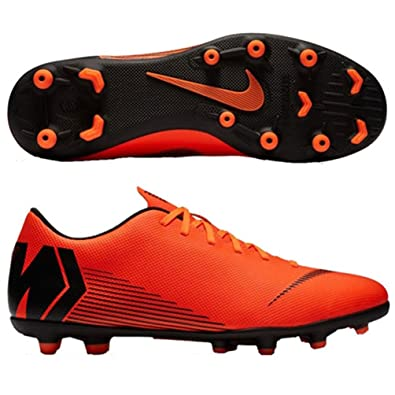Nike Men s Football Shoes Orange Synthetic UK-55 (US-6)  Buy Online ... 2ecdc7b917