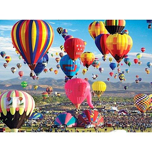 Balloons Galore 1000 Piece Puzzle - Albuquerque Hot Air Balloon Festival, 2007