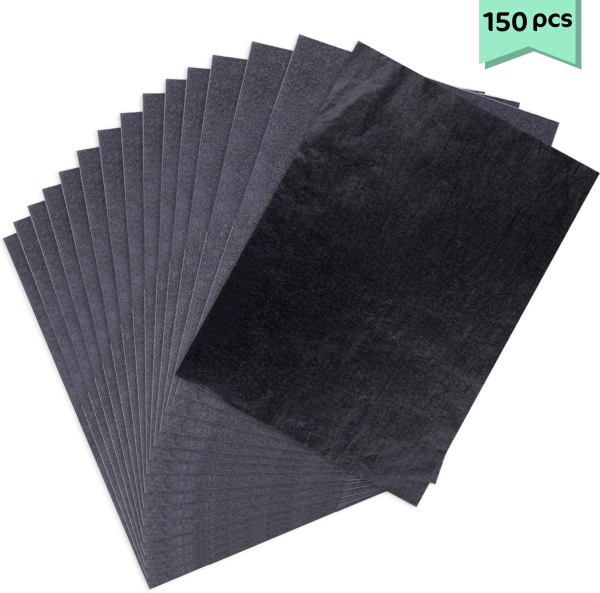 Paper Tracing Paper for Wood Black Neworkg 150 Sheets 9 x 13 Inch Carbon Transfer Paper Canvas and Craft