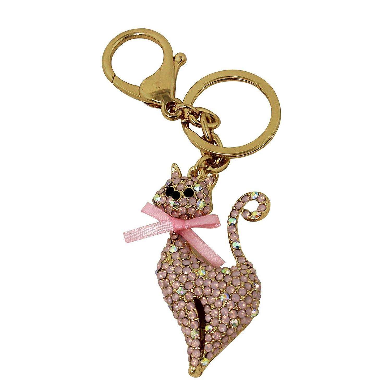 Pretty Kitty Key Chain and Purse Charm