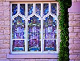 Wall Decor - ''Window of Colors'' - Antique Photography - Stained Glass