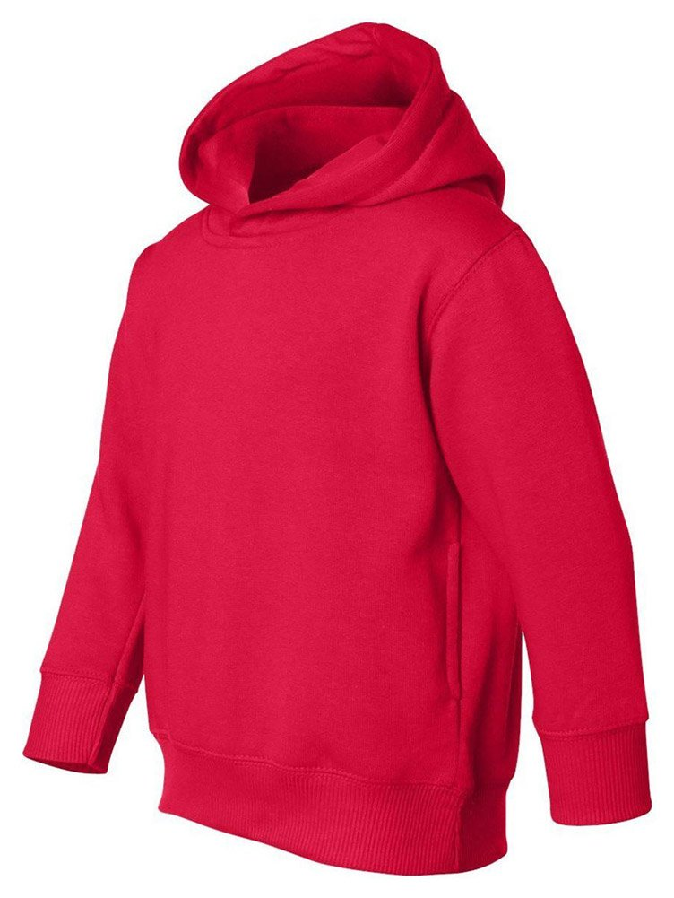 Rabbit Skins Toddler Pockets Fleece Hooded Sweatshirt 3326