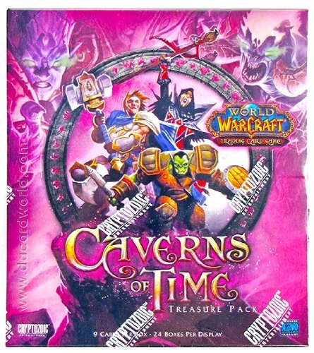 World of Warcraft The Caverns of Time Treasure Pack Box by Cryptozoic