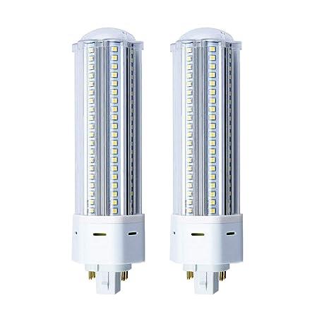 Bonlux 4-PIN 22W GX24Q LED Bombilla con 2200 Lúmenes, Reemplazo de 42W CFL