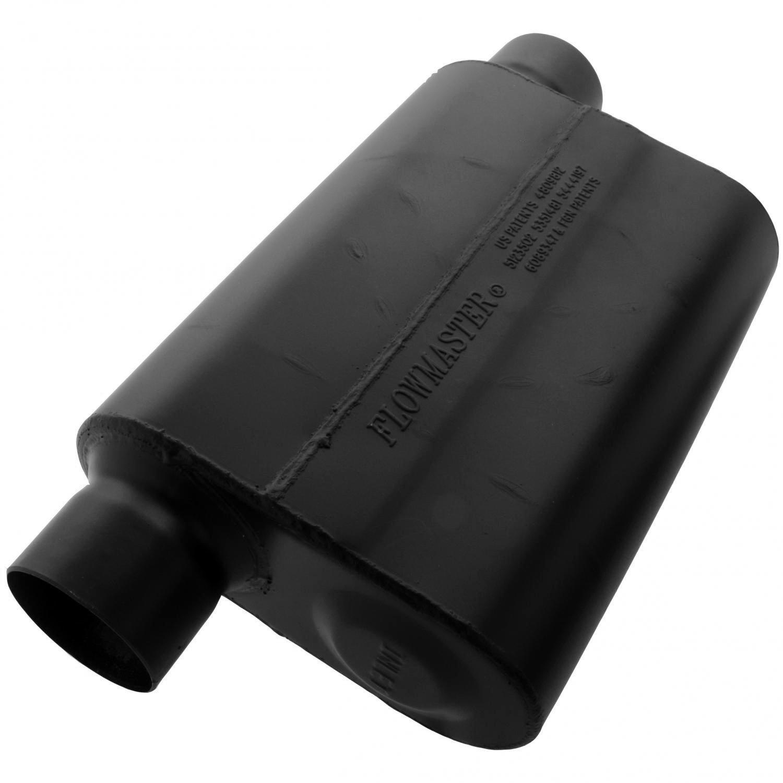 Flowmaster 943049 Super 44 Muffler - 3.00 Offset IN / 3.00 Same Side OUT - Aggressive Sound