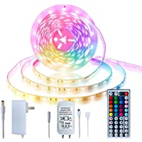 5-20m LED Strip Lights 20m - Music Sync LED Light Strip Controlled by Smart light for Phone APP -600 beads led lights…