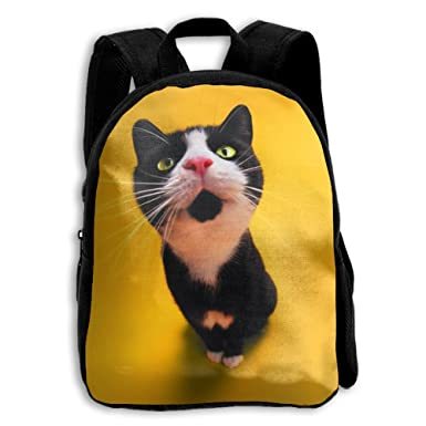 Fashion School Backpack Funny Cat Outdoor Casual Shoulders Multipurpose  Backpack Travel Bags For Children 8e7b1b1308a04