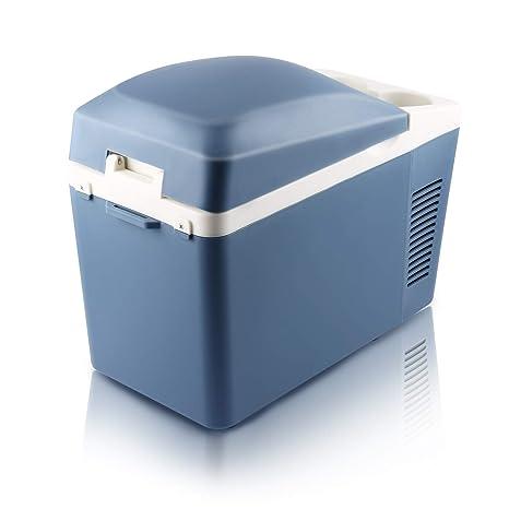 Nevera Termoeléctrica Portátil, Capacidad 7L, Color Azul