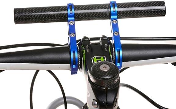 Covermason Soporte de linterna para bicicleta, barra de manillar ...