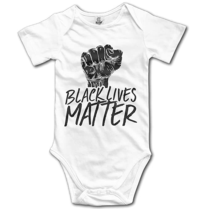 Unisex Negro Vida tema lucha Carrera bebé Pelele bebé mono corto slev: Amazon.es: Ropa y accesorios
